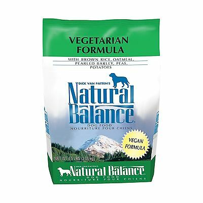 Natural Balance Vegetarian Dry Dog Food 4.5-Pound