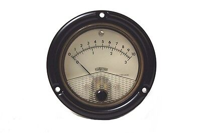 Phaostron Cage Code 77221 Arbitrary Scale Meter 631-18256 New