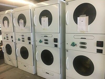 Solaris 30 lb. Stack Commercial Coin Operated Gas/Propane Dryers