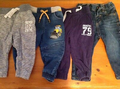 12 to 18 months boys trousers