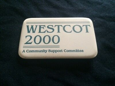 Disney Pin Badge 'Westcot 2000' A Community Support Committe