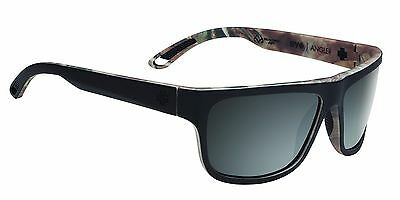 New Men's Spy Optic Angler Flat Sunglasses Happy Bronze Polarized Black Mirror