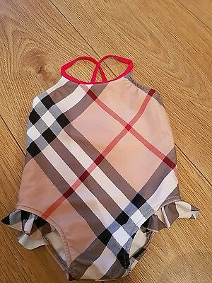 Baby girl Burberry swimsuit size 12 months