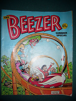 Vintage The Beezer 1988 Summer Special D C Thomson 32 pages VGC
