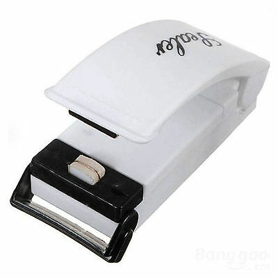 Mini Heat Sealing Machine Impulse Sealer Seal Machine Poly Plastic Bag UK SELLER