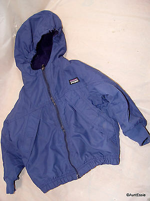 Patagonia Puffball Hooded Jacket 24 months Blue boys