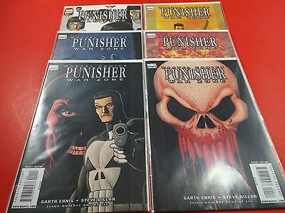 Punisher War Zone #1-6 Complete Set Dillon 2008