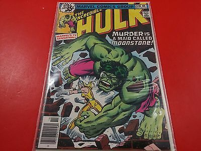 The Incredible Hulk #228 1st Female Moonstone 1978