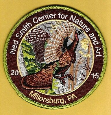 Pa Pennsylvania Game Commission related NEW Ned Smith 2015 Wild Turkey patch