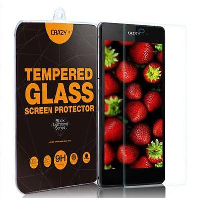 Premium Tempered Glass Screen Protector For Sony Z Series