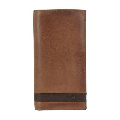 Fossil Quinn Men's Brown Small Executive Wallet ML3651