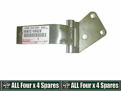 LH Passengers Side Rear Upper Barn Door Hinge Toyota Landcruiser 80 Series