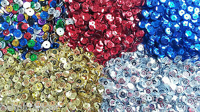 Rayher SEQUINS arched 6mm 4000 Stück for craftwork Various Colors