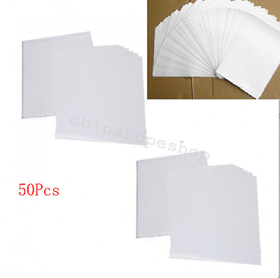 A4 50 Sheets Inkjet Heat Iron On Transfer Paper for Light Color Fabrics T-Shirt