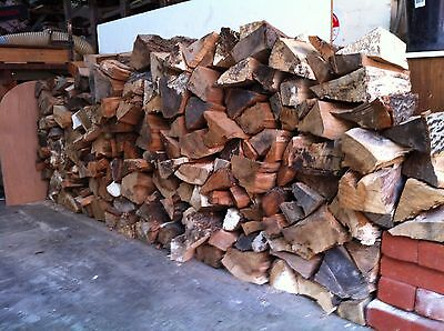 Fire Wood, 1.5 cubic metre ( stacked ) split and dried.