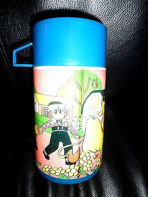 Vintage Raggedy Ann & Andy Collector Thermos By Aladdin 1973