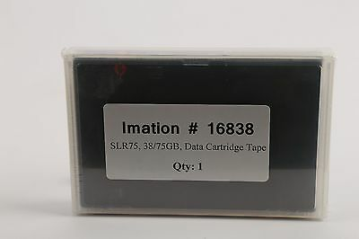 Imation #16838 SLR75 Blank Data Cartridge Tapes 38/75GB