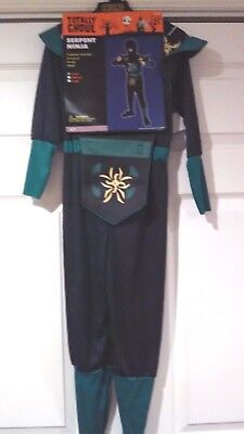 Serpent Ninja Costume Halloween Dress Up Boys Small By Totally Ghoul