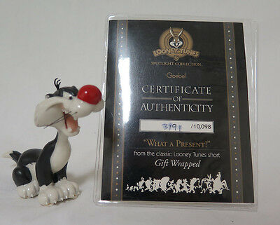 Goebel Looney Tunes Gift Sylvester What A Present LE 3191/10098 W/ COA