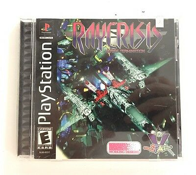 RARE RayCrisis Series Termination Working Designs Playstation PS1 Complete CIB