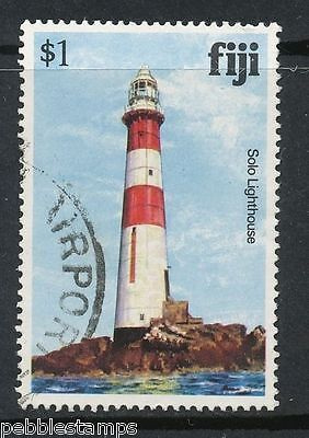 Fiji - Stamp - Solo Lighthouse - Used