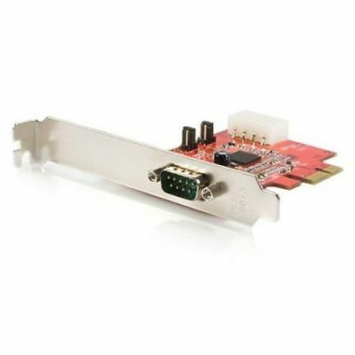 StarTech 1 Port Native PCI Express RS232 Serial Adaptor Card with 16550 UART Ser