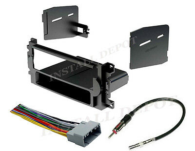 04-10 Complete Car Stereo Radio Installation Trim Kit Cd Player + Wiring Harness