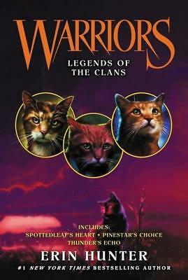 NEW Warriors : Legends of the Clans  By Erin Hunter Paperback Free Shipping