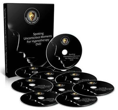 Spotting Unconscious Moments For Conversational Hypnosis DVD