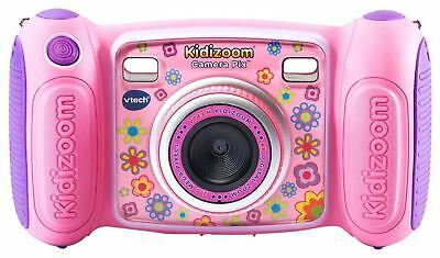 VTech Kidizoom Camera Pix, Selfie Mode 4 Built In Games 2.0 MP Kids Camera, Pink