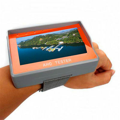 "Wrist 4.3"" HD 1080P AHD CCTV Camera Test Display Monitor Tester DC 12V-Output"
