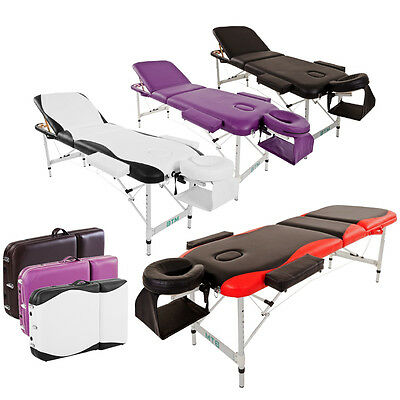 BTM Folding Portable Massage Table Bed Lightweight SPA Couch Beauty Therapy