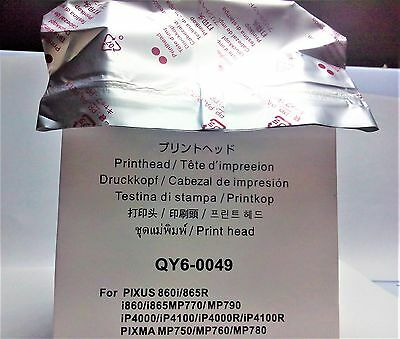 NEW PrintHead QY6-0049 For CANON IP4000 860i 865R i860 i865 Replacement Head