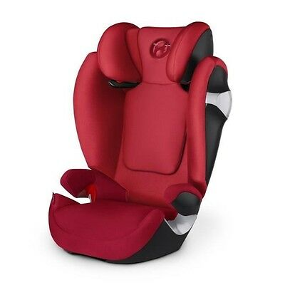 CYBEX Siege Auto Groupe 2/3 Solution M Infra Rouge