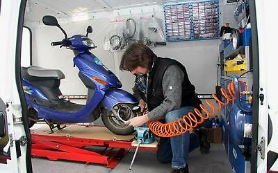 Service Mobil Rollerservice Reparatur Roller Scooter 4Takt 125 ccm 152QMI RGT