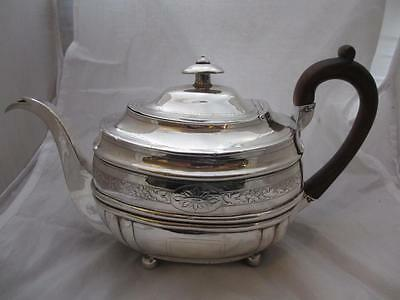 Sterling Silver Teapot Antique George III London 1810. MTH01583