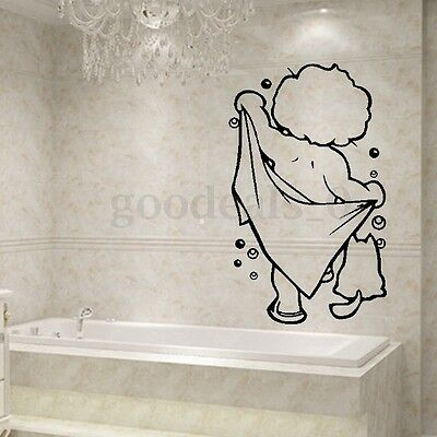 lindo Boy Pegatina de Pared Vinilo Decorativo Adhesivo Removible Hogar Baño DIY