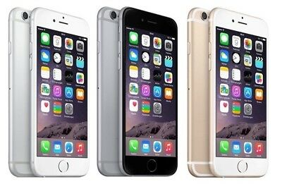 Apple iPhone 6 16GB Grau / Gold / Silber - WooW