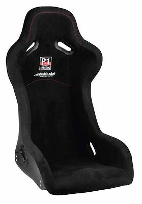 Buddy Club P1 Racing Spec Edition Side Mounted Bucket Seat Black Large Y0730