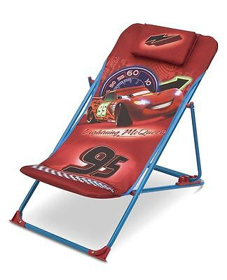 Disney Cars Beach Chair, Childrens Outdoor Beach Chair, Kids Furniture FREE P&P