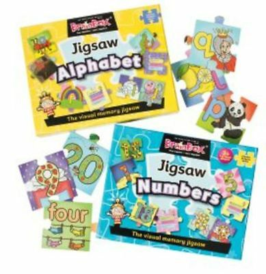 BrainBox: Alphabet and Numbers Jigsaw Duo Pack