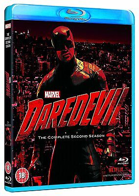 Daredevil The Complete Second Season 2 (Blu-ray) BRAND NEW!! MARVEL NETFLIX