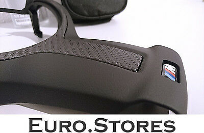 BMW 1 Series F20 F21 M Performance Steering Wheel Cover With Carbon Fiber New