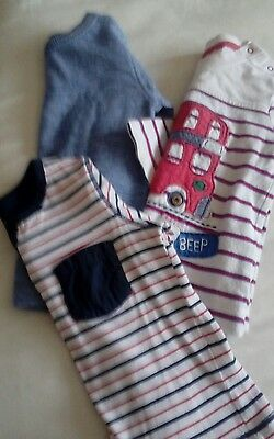 Baby boys long sleeved tops 6-9 months