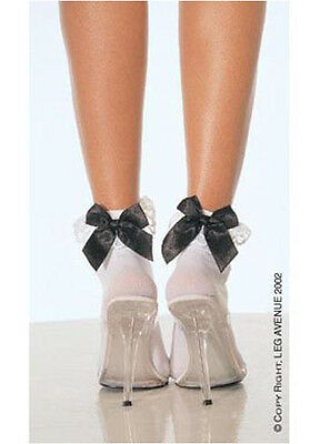 Adult Anklet Socks With Bow Leg Avenue 3029