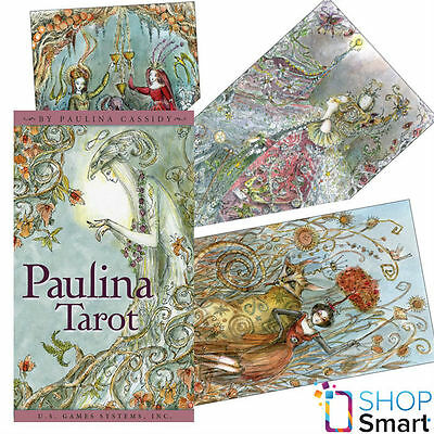 Paulina Tarot Deck Playings Cards Esoteric Telling Us Games Systems New