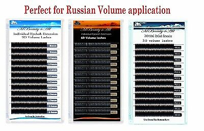 Mbeauty4all   Russian Volume Lashes Individual Eyelash Extensions 0.05/0.07/0.10