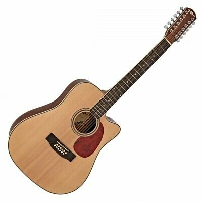 Dreadnought 12 String Acoustic Guitar by Gear4music