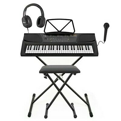 MK-1000 54-key Portable Keyboard by Gear4music - Complete Pack