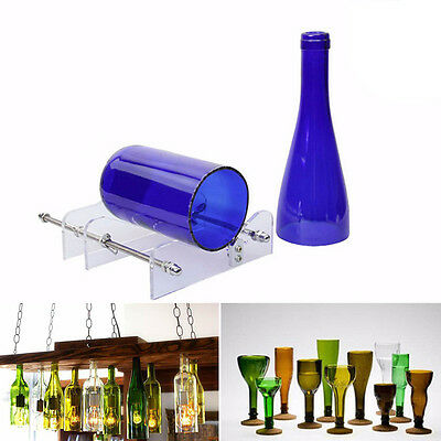 Glass Wine Bottle Cutter Cutting Machine Jar Kit Craft Machine Recycle Tools DIY